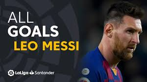 ALL GOALS Leo Messi LaLiga Santander - YouTube