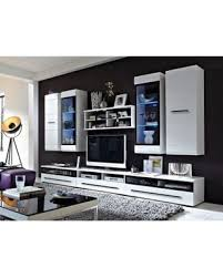 white tv entertainment center. Black Red White Fever TV Entertainment Center Wall Unit - S182-FEVER1-BIP. Tv .