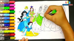 Print doraemon coloring pages for free and color our doraemon coloring! Coloring Disney Princess Learn Colour With Disney Princess Coloring Pages Coloring Book For Kids Video Dailymotion