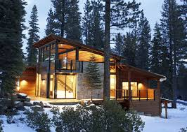 Modern Mountain Home Pinterest Exterior