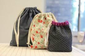 Drawstring Bag Pattern Delectable Handmade Giving Free Reusable Gift Bag Tutorial