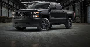 chevrolet trucks 2015 black. Unique Black U0027Black Outu0027 Work Truck Is Latest Chevy Silverado Special Intended Chevrolet Trucks 2015 Black 5