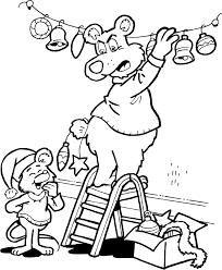 Kleurplaat Kerst Kleurplaat Kerst Overig Animaatjesnl