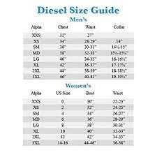 Diesel Mens Jeans Size Chart Diesel Size Chart Womens Buurtsite Net