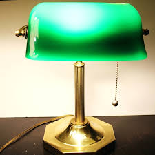 john lewis banker lamp