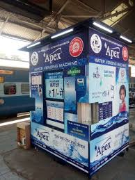 Water Vending Machine New APEX TECHNOLOGY Packaged Drinking Water Plant In Siliguri West