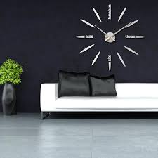 livingroom wall clock for living room glamorous decorative clocks modern india neon large