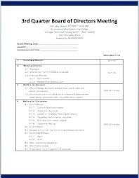 Agenda Formats Classy Meeting Itinerary Templates Sample Example Format Download Doc Board