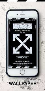 Off White iPhone 8 Wallpaper (Page 1 ...