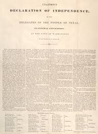 texas declaration of independence the gilder lehrman texas declaration of independence 1836