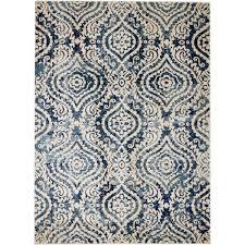 bungalow rose amy royal trellis cream blue area rug reviews wayfair with and idea 18
