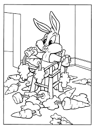 Coloring Page Baby Looney Tunes Coloring