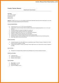 6 Fresher Resume Format For Teaching Job Trinity Training