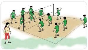 Gerakan ini menunjukkan kombinasi gerak dasar dalam permainan bola basket. Materi Pembelajaran Permainan Bola Besar Melalui Permainan Bola Voli Pustaka Belajar