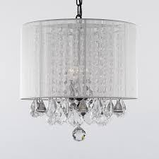 ... Fair Very Beautiful Drum Shade Chandelier for Drum Shade Crystal  Chandelier ...