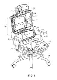 office chair drawing. patent drawing office chair a