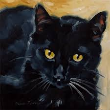you can find this black kitty on my daily paintworks gallery page here