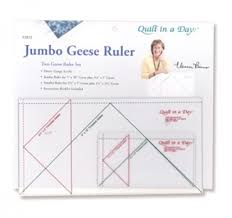 Jumbo Geese Ruler Set 735272020226 - Quilt in a Day / Rulers ... & Jumbo Geese Ruler Set Adamdwight.com