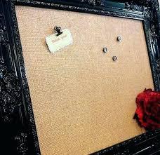 framed cork board with hooks decorative cork board home decor black wooden frame with brown cork framed cork board