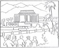 Small Picture Lds Temple Coloring Pages Print Out The Gilbert Temple Dottodot