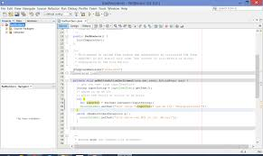 programming brandon grasley s blog an image showing a program being written in the netbeans ide