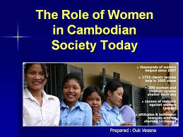 the role of the women in n society today authorstream