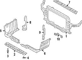 com acirc reg hyundai veloster radiator support oem parts 2012 hyundai veloster base l4 1 6 liter gas radiator support