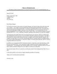 Sample Cover Letter For Hospitality Industry Cover Letter Template Hospitality Resume Examples