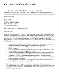 Administrative Assistant Cover Letter 8 Free Word Pdf Intended For