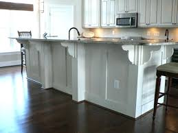 kitchen island brackets traditional countertop