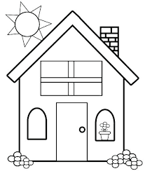 Simple Coloring Pages For Kids Easy Printable Coloring Pages Easy