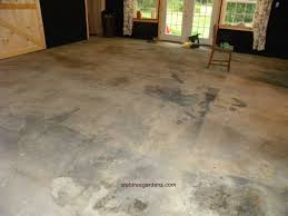 painted concrete floorsHow to Make a Concrete Floor Look Like Limestone  Garden and a
