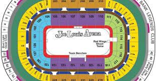 Joe Louis Arena Seating Chart 708c9869cc8 Good Selling