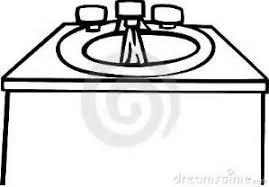 kitchen sink clipart black and white. pics photos clipart picture kitchen sink cabi black and white