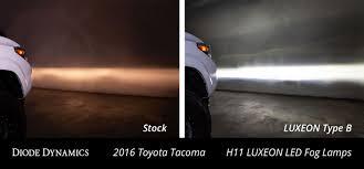 2019 Toyota Tacoma Led Fog Lights Luxeon Led Fog Lamps For 2012 2019 Toyota Tacoma Pair