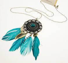 Dream Catcher Necklace Forever 21 Mesmerizing NWT Forever 32 Dream Catcher Green Feather Filigree Pendant
