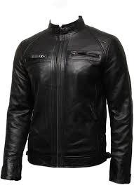 Discount Designer Mens Leather Jackets Infinity Mens Leather Biker Jacket Genuine Leather Bomber Jacket Designer