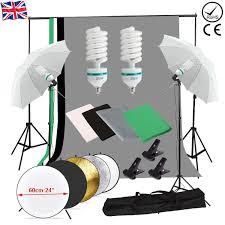 image is loading photo studio backdrop umbrella lighting light kit set