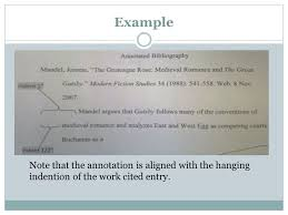Word  How to Create an Annotated Bibliography