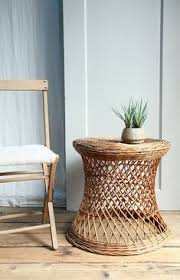 vintage wicker patio furniture. Vintage Wicker Side Table, The Kind Of Furniture You Can Find Thrifting Patio T