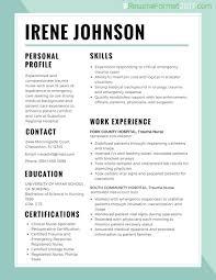 proper resume. Proper Resume Format 3 medmoryappcom