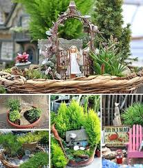 outdoor fairy garden. outdoor fairy garden fabulous and cute mini gardens cottage
