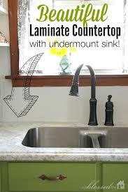 beautiful laminate with sink making countertops how to make your look like granite
