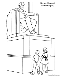 670x820 lincoln memorial coloring pages home school