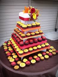 fall wedding cupcakes. Perfect Cupcakes Fall Wedding Cupcake Tower On Cake Central Intended Cupcakes I