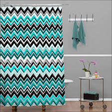 teal chevron shower curtains. Kitchen : The Most Updated Design Of Teal Chevron Shower Curtains Aida Homes Turquoise Black White Curtain Walls Undersea Restaurant Build A I