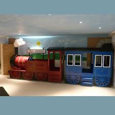 Children's built to last train bed. Choo Choo hop onboard and see where  your child s imagination will take them A great bed for Thomas the Tank  Engine and ...