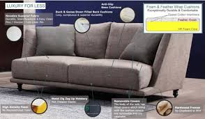 vogeler fabric 2 seater sofa by delux deco