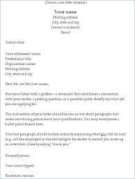 Example Cover Letter Email Letter Resume Directory
