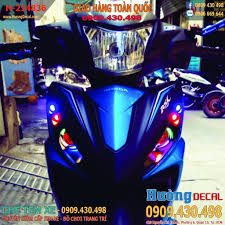 đèn led mắt cú cho xe wave rsx 2014 - hường decal chuyên bán đèn led mắt